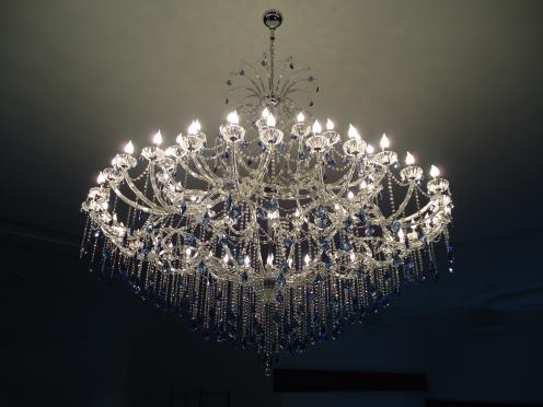 big lustre 60 lampadas maria teresa