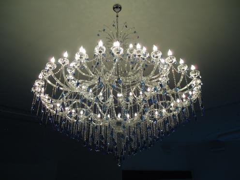 big lustre maria teresa 60 lampadas