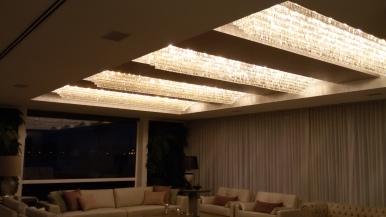 plafon sala de estar exclusivo fabricacao boutique dos lustres