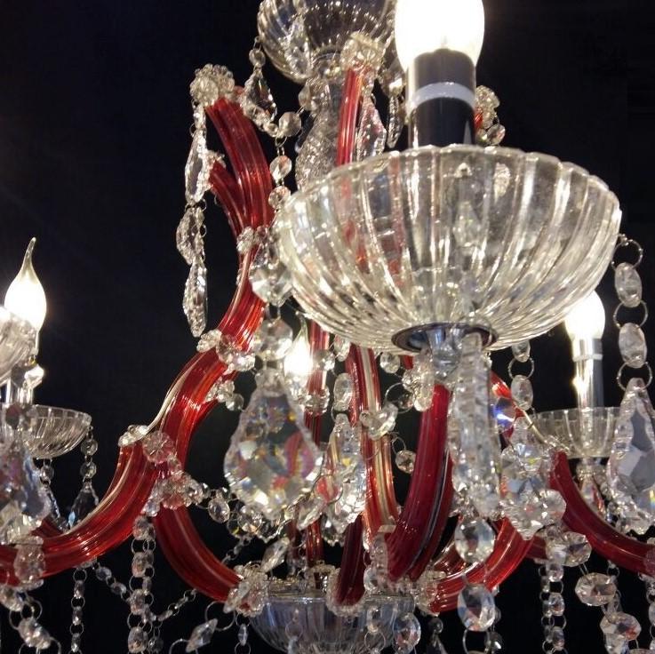 lustre de cristal vermelho 6 bracos boutique dos lustres 3.jpg