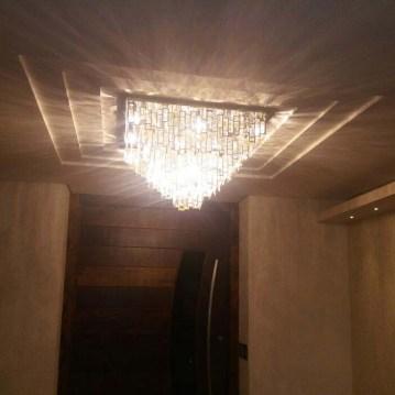 Luminaria de cristal exclusiva