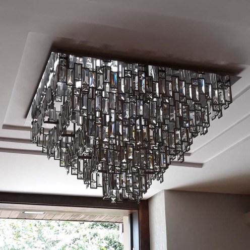 Luminaria de luxo para sala